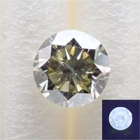 【11/7更新】カメレオンダイヤモンド 0.283ctルース(FANCY LIGHT GRAY YELLOW GREEN, I1)