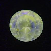 【2/3更新】グリーンダイヤモンド 0.167ctルース(FANCY GRAY GREEN, SI2)