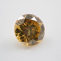 【1/13更新】イエローダイヤモンド 0.286ctルース(トリートメント,FANCY DEEP YELLOW, SI1)