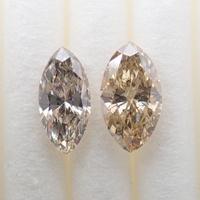 【7/14掲載】ダイヤモンド2石セット 0.667ctルース