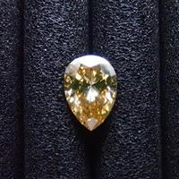 【1/18更新】イエローダイヤモンド 0.312ctルース(FANCY BROWN ORANGISH YELLOW, SI1)