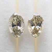 【7/14掲載】ダイヤモンド2石セット 0.579ct(蛍光タイプ)