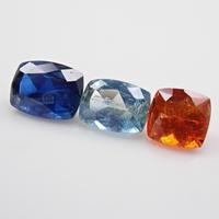 【9/1掲載】カイヤナイト3石セット 1.609ctルース