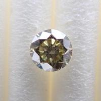 【7/5更新】カメレオンダイヤモンド 0.186ctルース(FANCY GRAY GREENISH YELLOW, SI1)