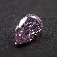 【1/29更新】ピンクダイヤモンド 0.052ctルース(FANCY LIGHT PURPLISH PINK, SI2)