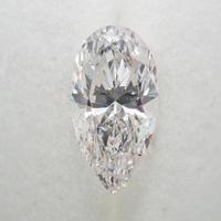 【7/4掲載】ダイヤモンド 0.656ctルース(F, SI2, ペアシェイプ)