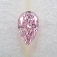 【7/24更新】ピンクダイヤモンド 0.040ctルース(FANCY PURPLISH PINK, SI2)