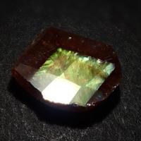 【7/17更新】アンドラダイトガーネット(通称名 レインボーガーネット) 0.853ct原石