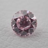 【5/18掲載】ピンクダイヤモンド0.088ctルース(LIGHT PINK、I-1)