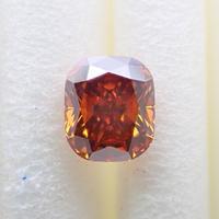 【8/11更新】オレンジブラウンダイヤモンド 0.458ctルース(FANCY DEEP ORANGE BROWN, SI2)