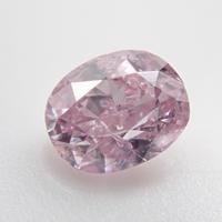 【9/30更新】ピンクダイヤモンド 0.164ctルース(FANCY PURPLISH PINK   , I1)