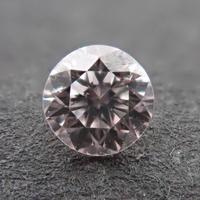 【4/12更新】ピンクダイヤモンド 0.076ctルース(VERY LIGHT PINK, SI1)
