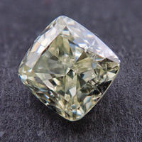 【8/10掲載】イエローダイヤモンド 0.467ctルース(LIGHT YELLOW, VVS2)