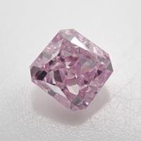【11/1更新】ピンクダイヤモンド 0.138ctルース(FANCY PURPLE PINK, I1)