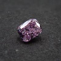 【2/19更新】ピンクダイヤモンド 0.061ctルース(FANCY PURPLE PINK, SI2)