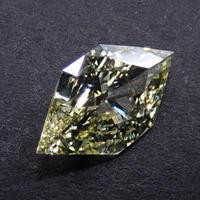 【2/19更新】イエローダイヤモンド 0.789ctルース(FANCY YELLOW, VS1)