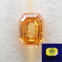 【11/5掲載】オレンジダイヤモンド 0.179ctルース(FANCY DEEP YELLOW ORANGE, I1)
