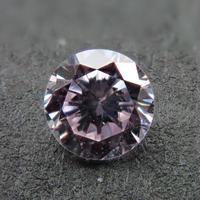 【1/26更新】ピンクダイヤモンド 0.137ctルース(VERY LIGHT PURPLE PINK, VS2)