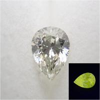 【9/3更新】イエローダイヤモンド 0.307ctルース(VERY LIGHT GRAYISH GREENISH YELLOW, SI1,ペアシェイプ)