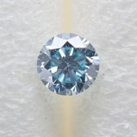 【7/7掲載】アイスブルーダイヤモンド 0.048ctルース(Treted FANCY GREENISH BLUE, VS1)