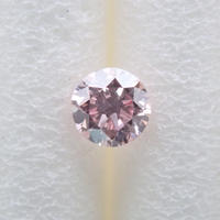 【4/1更新】ピンクダイヤモンド 0.062ctルース(LIGHT PINK, SI2)