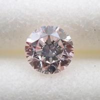 【9/15掲載】ピンクダイヤモンド 0.117ctルース(FAINT PINK, SI2)