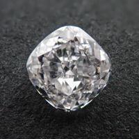 【4/1掲載】ダイヤモンド 0.336ctルース(G, VS2)  (クッションカット)