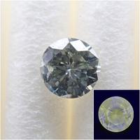 【11/5更新】グリーンダイヤモンド 0.167ctルース(FANCY GRAY GREEN, SI2,蛍光性:VERY STRONG YELLOW)