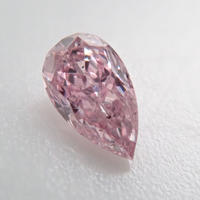 【11/7更新】ピンクダイヤモンド 0.040ctルース(FANCY PURPLISH PINK, SI2)