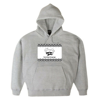 boombap language hoody (heather gray)