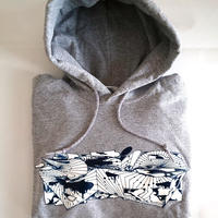 2山 - hoody ( heather grey , black )