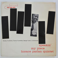 Horace Parlan Quintet ‎– Speakin' My Piece(Blue Note ‎– BLP 4043)mono