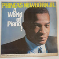 Phineas Newborn Jr.  ‎– A World Of Piano ! (Contemporary Records ‎– M3600)mono