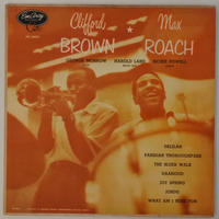 Clifford Brown ✶ Max Roach ‎– Clifford Brown ✶ Max Roach( EmArcy ‎– MG 36036)mono