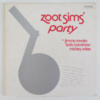 Zoot Sims ‎– Zoot Sims' Party(Choice Records ‎– CRS1006)stereo