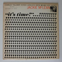 Jackie McLean  ‎– It's Time! (Blue Note ‎– BST 84179)stereo