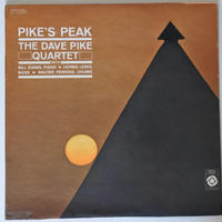 Dave Pike Quartet ‎– Pike's Peak(Epic ‎– LA 16025)mono