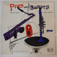 Lester Young,  Harry Edison  – Pres & Sweets(Norgran Records – MG N-1043)mono