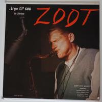 Zoot Sims Quartet  – Zoot (Argo  – LP 608)mono