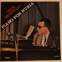 Tete Montoliu Trio – Piano For Nuria( SABA – SB 15 163 ST)mono