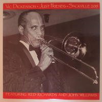 Vic Dickenson ‎– Just Friends (Sackville Recordings ‎– 2015)mono