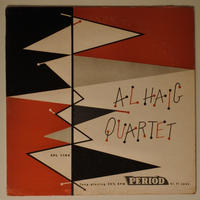 Al Haig Quartet ‎– Al Haig Quartet(Period Records ‎– SPL 1104)mono