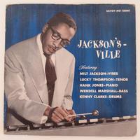 Milt Jackson / Jackson's Ville (Savoy MG 12080) mono