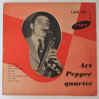 Art Pepper Quartet  ‎– Art Pepper Quartet (英Vogue Records ‎–  L.D.E.067 )mono