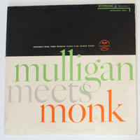 Thelonious Monk And  Gerry Mulligan  ‎– Mulligan Meets Monk (Riverside Records ‎– RLP 12-247)mono