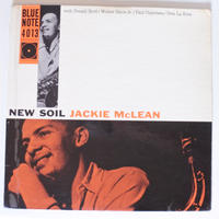 Jackie McLean  ‎– New Soil (Blue Note ‎– BLP 4013)mono