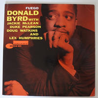 Donald Byrd ‎– Fuego(Blue Note ‎– BLP4026)mono