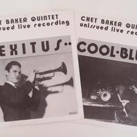 Chet Baker - Unissued Live Recording (伊Replica RR-1&2) mono オリジナル盤2枚セット