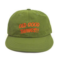 OldGoodThings 6PANEL CAP (GOOD PLAYER) GREEN