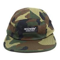 re:create ORIGINAL 5PANEL CAP (ORIGINAL CAP) WOODLAND